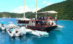 Willy T's - Bight Bay of Norman Island in the British Virgin Islands